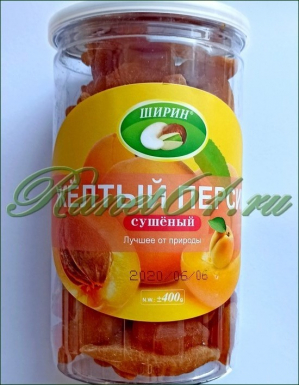 Персик натур. банка (0,4кг)