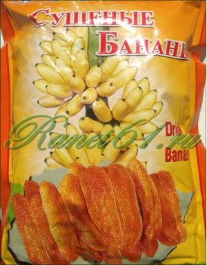 Банан сушеный (0,2кг.)