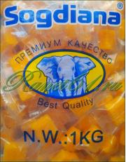 Манго кубики Согдиана (1 кг)