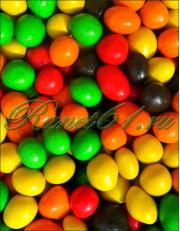 Арахис в шоколаде и цветной глазури (1 кг)