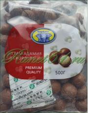 Макадамия орех в скорлупе крупный СОГДИАНА (0,5кг)