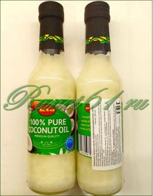Масло кокосовое рафин.( 0,25 л)