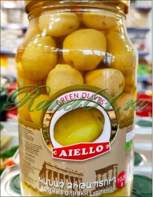 Оливки зеленые с кост. (1л)