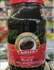 Оливки черные с кост. (6х1л)