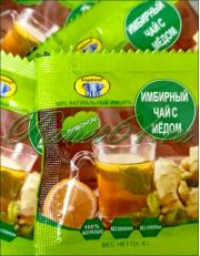 Имбирный чай с медом и лимоном (6г х 12шт)