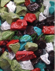 Камешки молочный шоколад в глазури ( 1 кг)