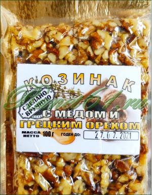Козинак грецкий мед (0,1кг)