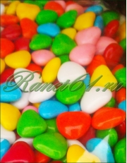Шоколадные сердечки/таблетки (1кг)