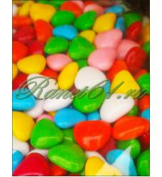 Шоколадные сердечки/таблетки